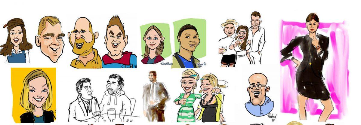 verschillende tekenstijlen