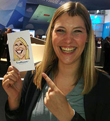 Girl on Cebit
